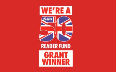 The Ripple Pond are awarded a Sun 50 Grant
